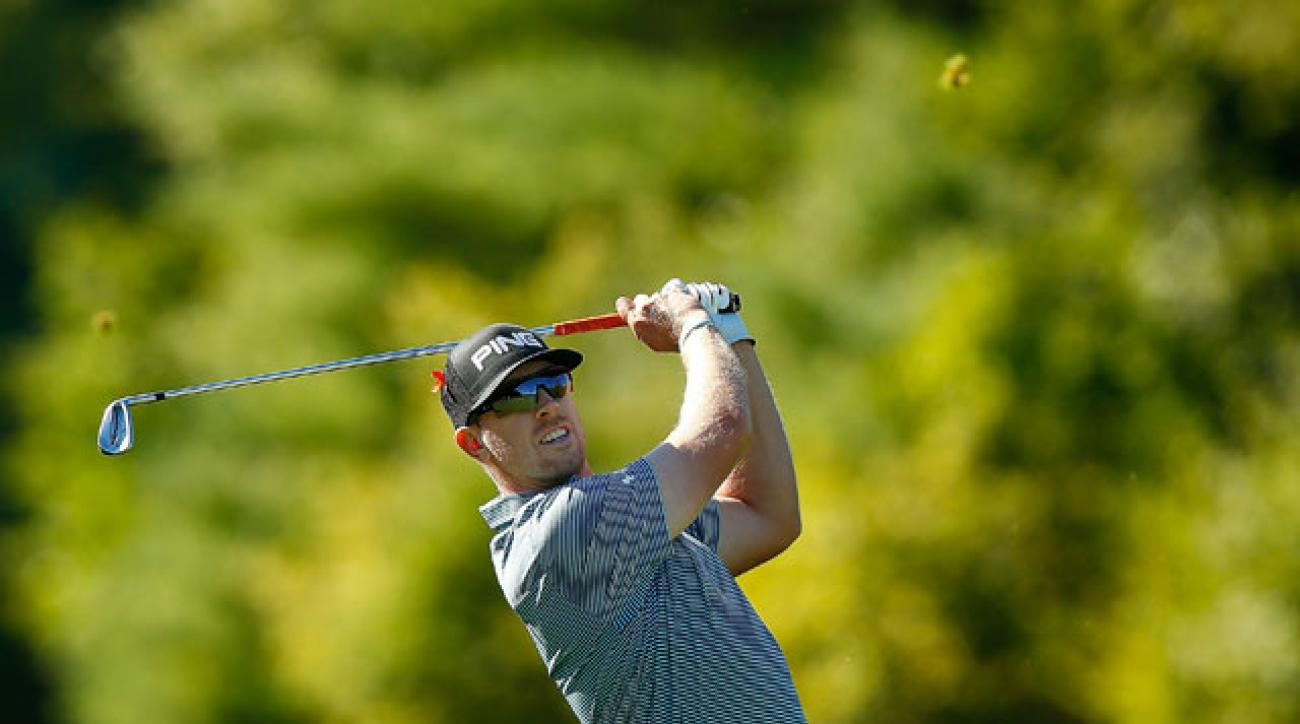Hunter Mahan won The Barclays, the first event in the Fed Ex Cup playoffs.