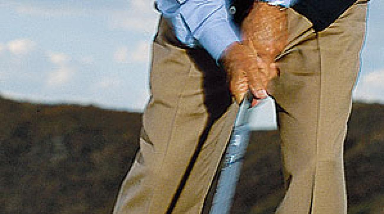Let legendary golf instructor Eddie Merrins show you how to make better contact.