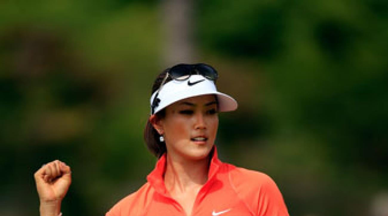 Michelle Wie shot a 5-under 67 on Sunday to secure her third career LPGA victory.