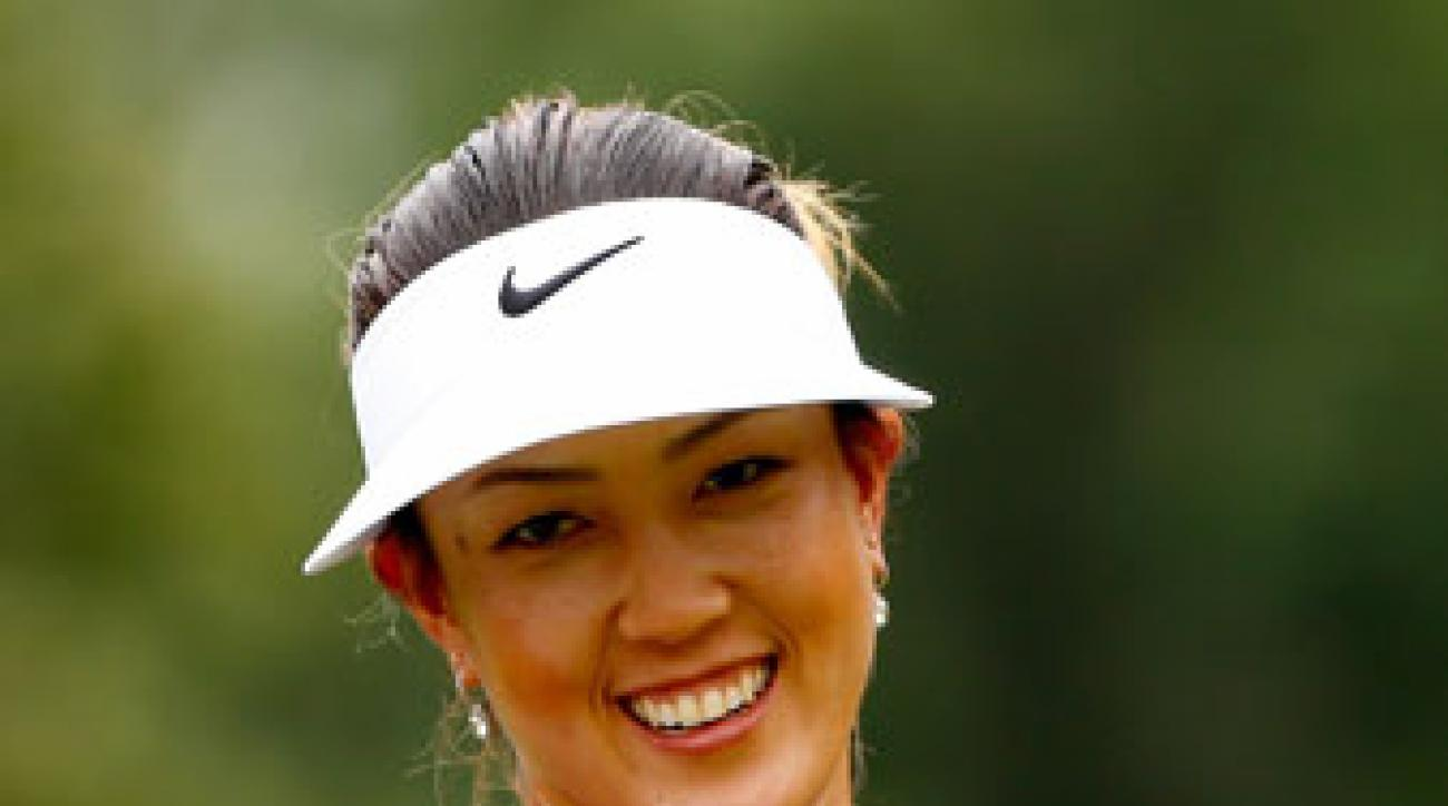 Michelle Wie still has a shot at the LPGA's $1 million bonus for winning the Race to the CME Globe.