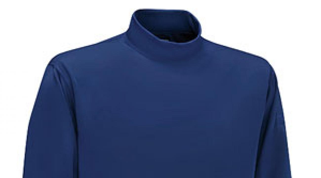 Mizuno's Performance Mock Turtleneck