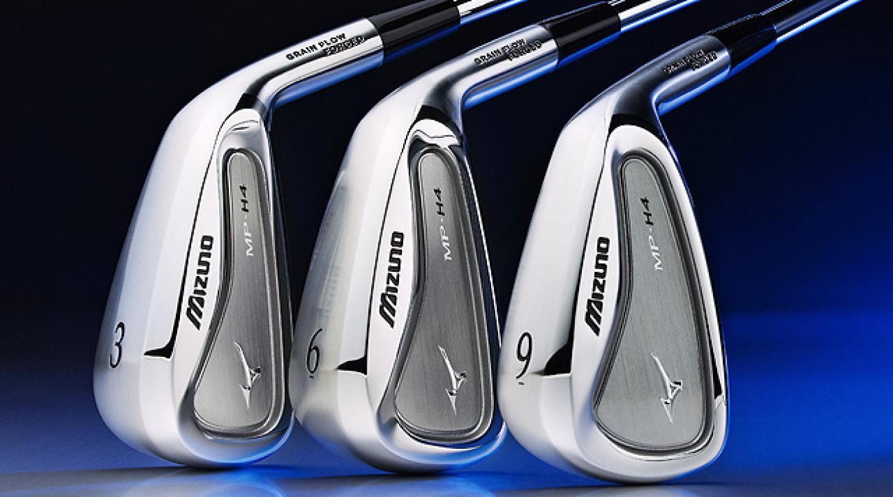Mizuno's MP-H4 irons