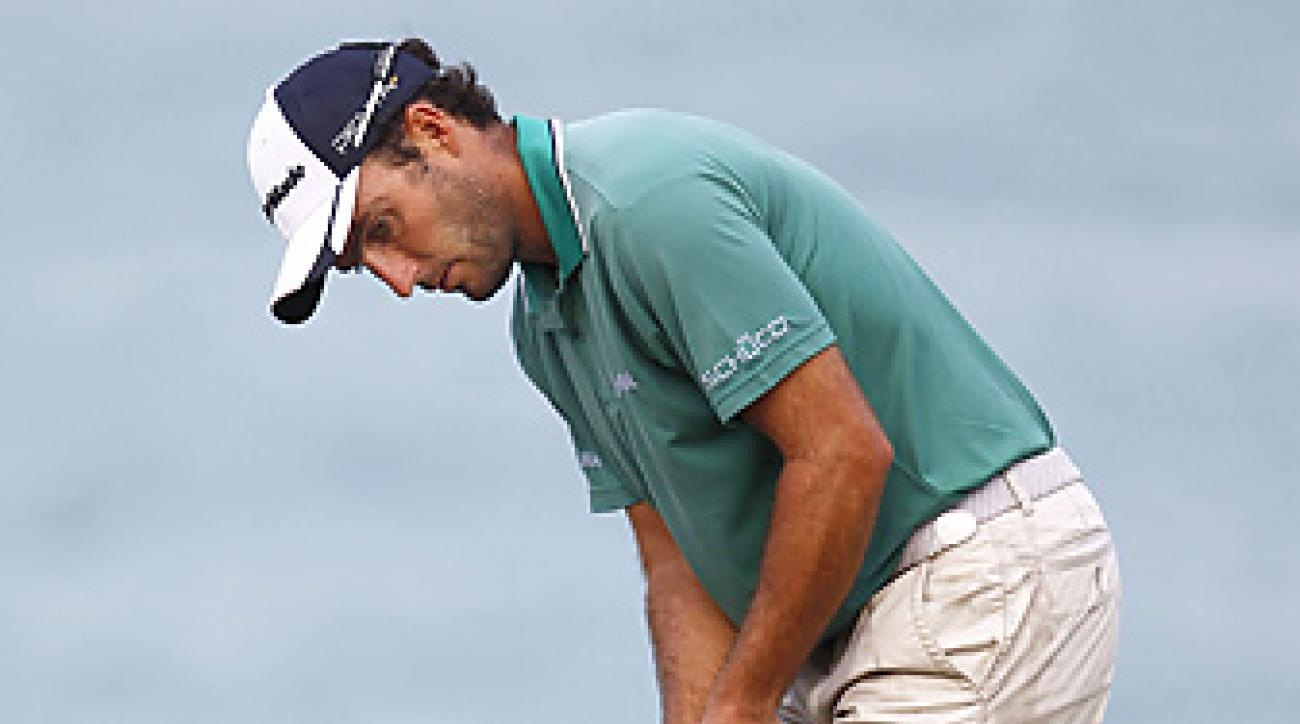 Edoardo Molinari will team with his brother, Francesco, once again this week at the World Cup.