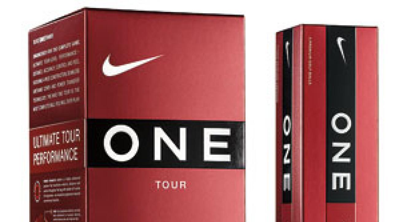 Nike One Tour golf balls