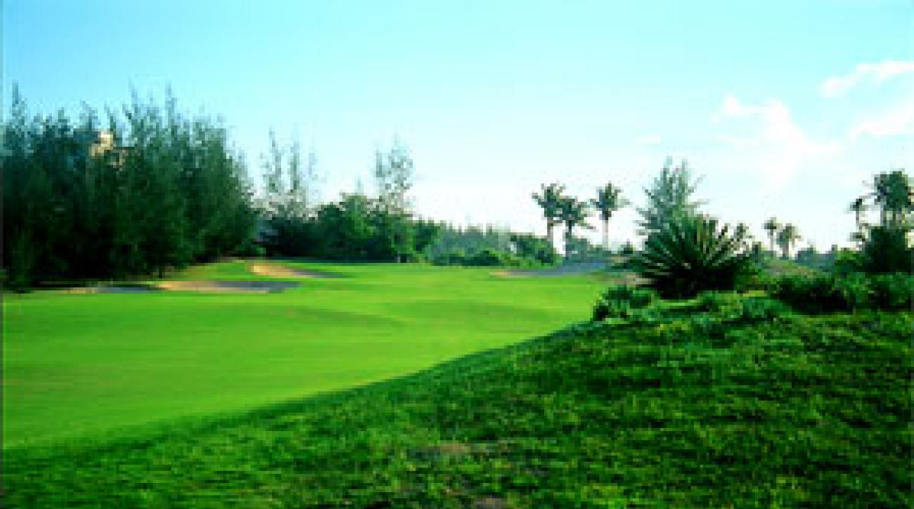 Ocean Dunes is one of the courses on the Ho Chi Minh Trail.