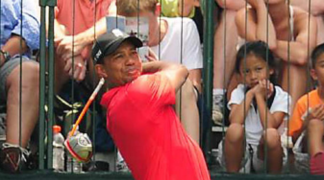 Tiger Woods closed with a two-under 69 in the final round.