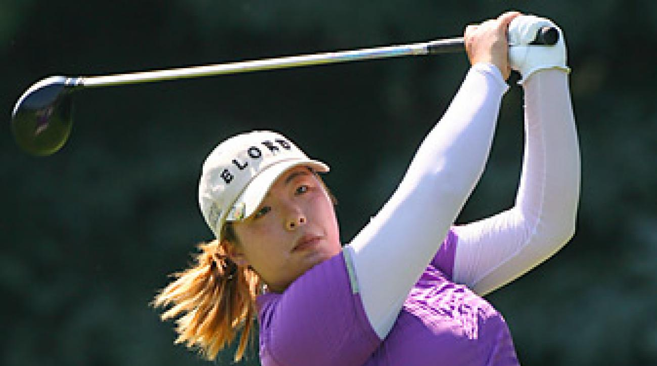 The only player from China on the tour, Feng shot a 67 on Sunday, the lowest round of the tournament.