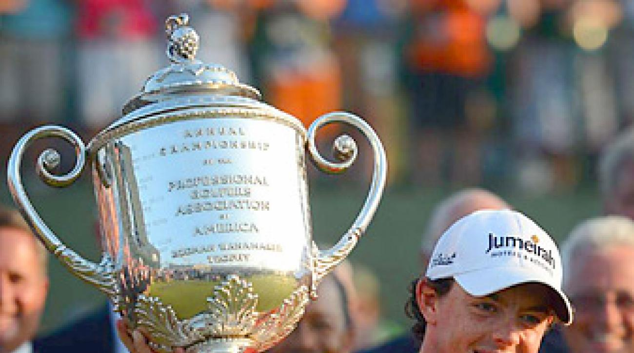Rory McIlroy won his second career major championship and first PGA.