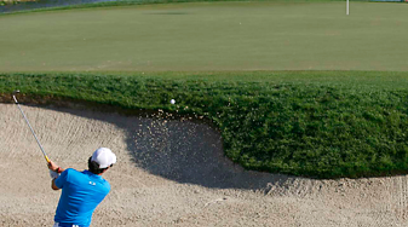 Rory McIlroy's unflappable sand game helped carry him to a win at the Honda Classic.