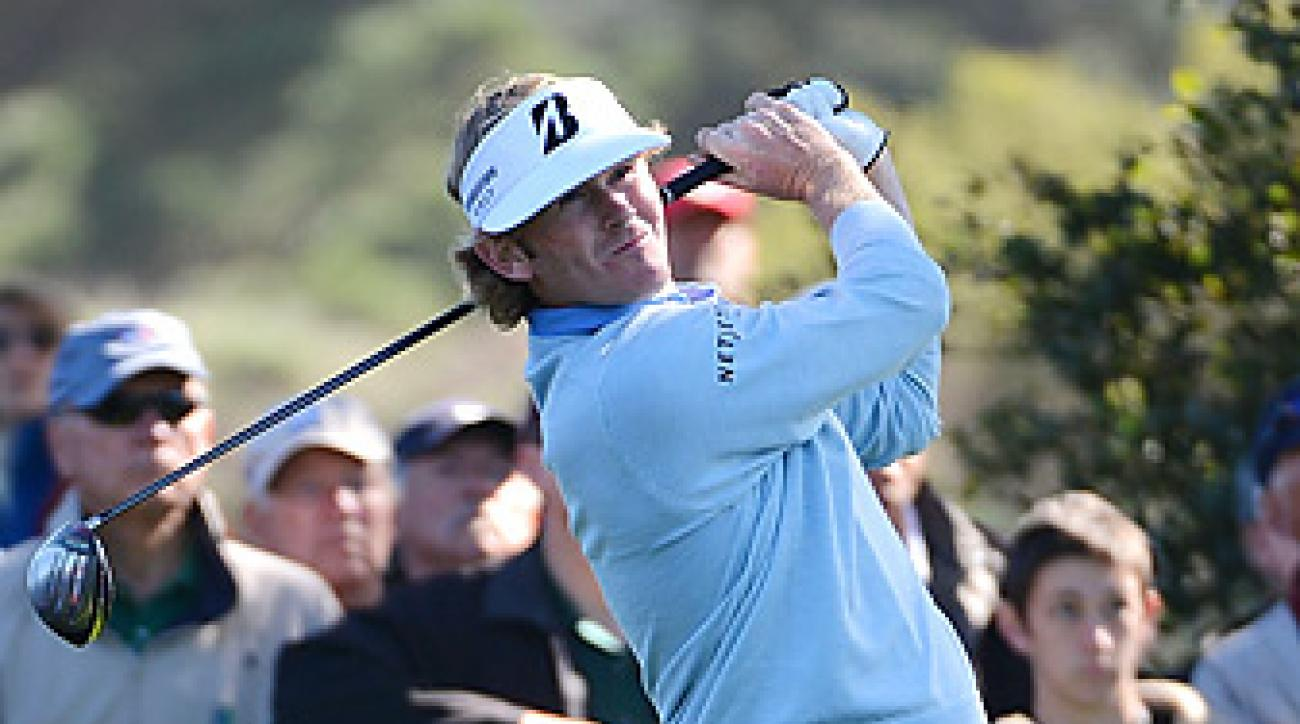 Brandt Snedeker shot a final-round 65 to win at Pebble and rise to No. 4 in the world rankings.
