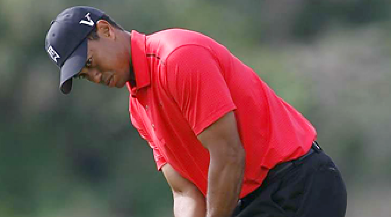 Tiger Woods shot a Sunday career-best 62 in the final round last week at the Honda Classic.