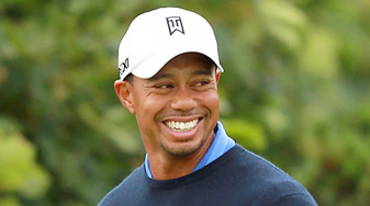 Tiger Woods is seeking his 15th major title this week.