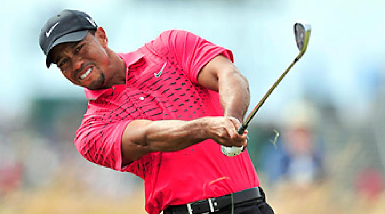 Tiger Woods contended at the British Open before fading on Sunday.