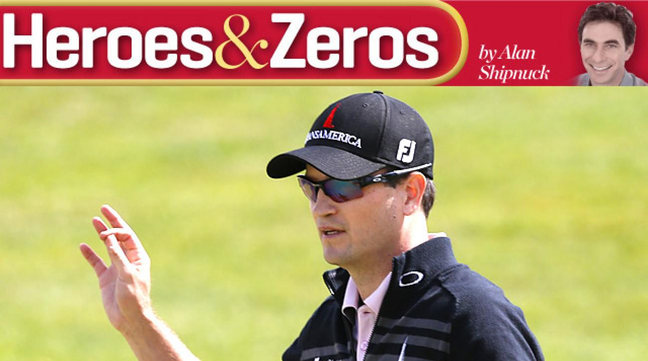 Zach Johnson earned his first title of the season at the BMW Championship.