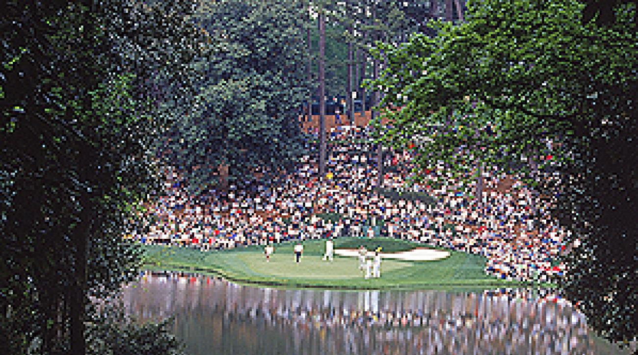 "Cobb's work on the Par 3 Course at Augusta National is enjoyed every year by the patrons and players alike. <span class=""picturesource"">Getty Images</span>"