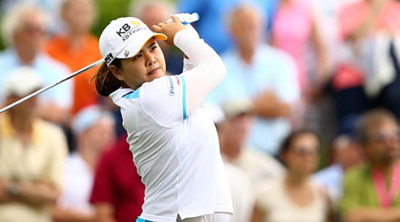 Hee Young Park won the Titleholders for her first victory on the LPGA Tour.