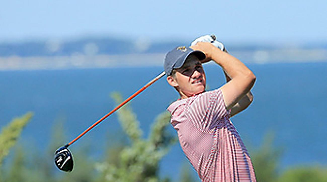 Patrick Rodgers helped the U.S. team win the 2013 Walker Cup.