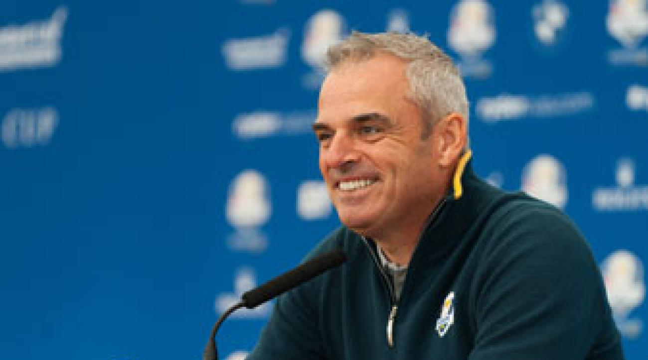 Paul McGinley spoke to the media Tuesday prior to the start of the 2014 Ryder Cup at Gleneagles.
