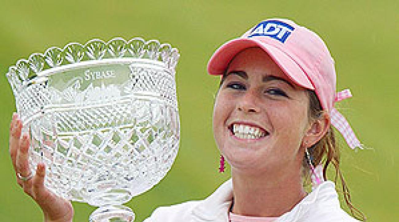 Paula Creamer wins the 2005 Sybase Classic.