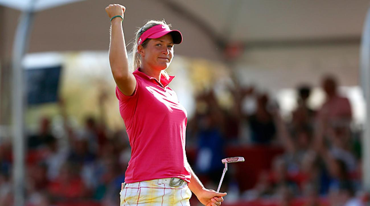 Norway native Suzann Pettersen has won tournaments around the world.