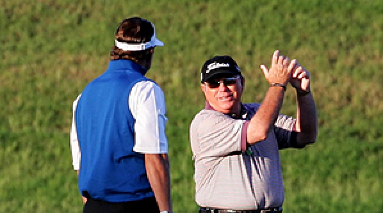 In just a few weeks the swing adjustments taught to Phil Mickelson by his new coach, Butch Harmon, have paid off in a Players Championship title.