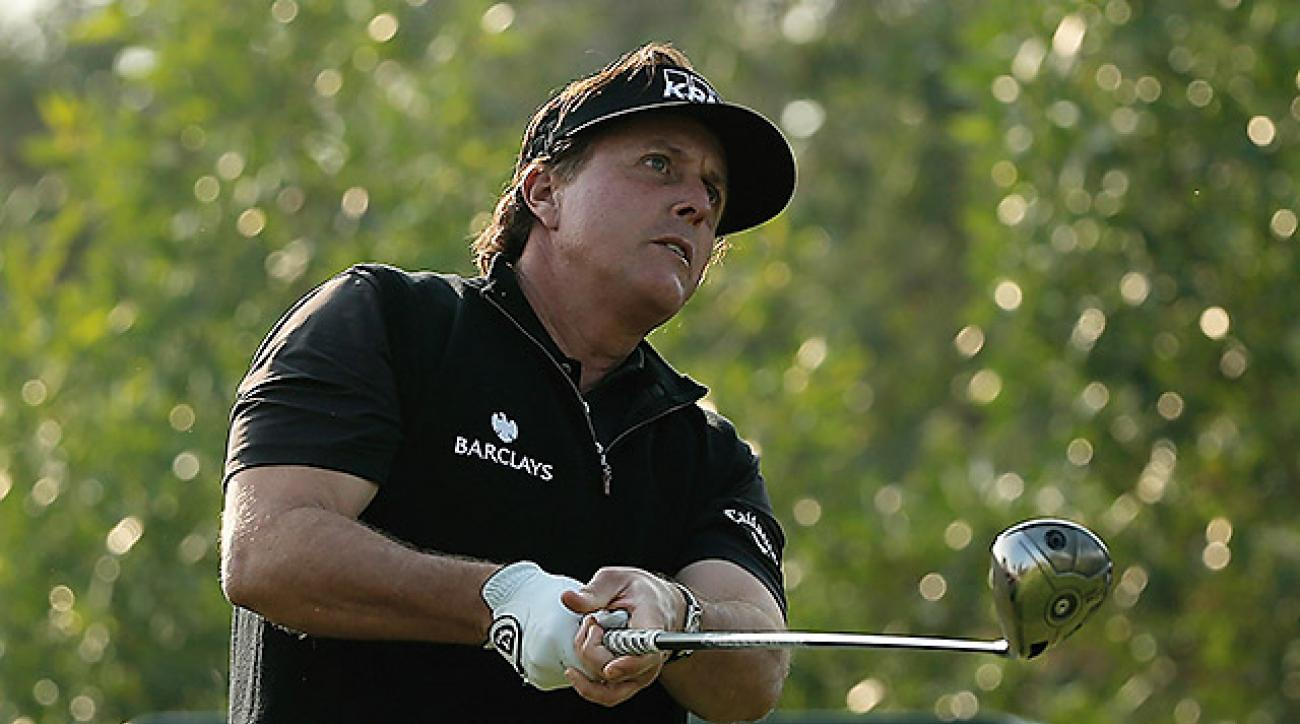 "Phil Mickelson said he ""can't recall"" the last time he finished a round without carding a single birdie."