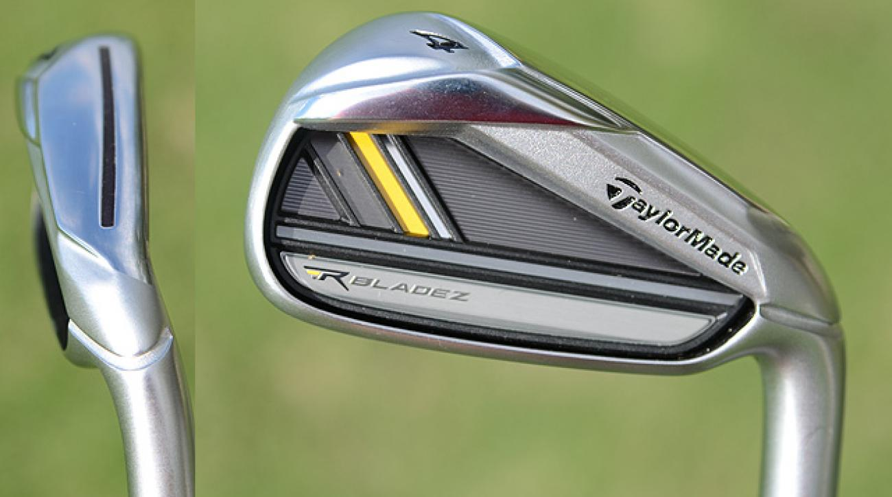 """TaylorMade RocketBladez (<strong><a href=""""http://www.golf.com/photos/taylormade-rocketbladez-rocketbladez-tour-irons-best-golf-irons/rocketbladez-back"""">More photos</a></strong>)"""