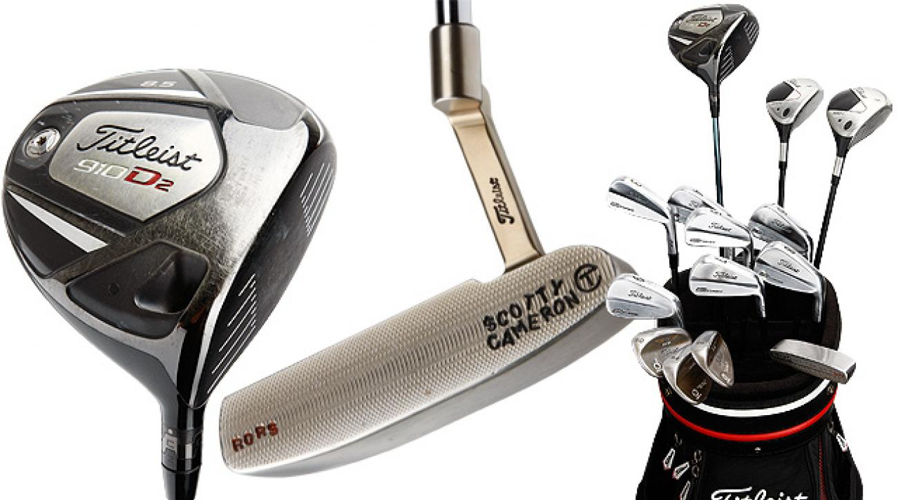 Rory McIlroy's Titleist gear