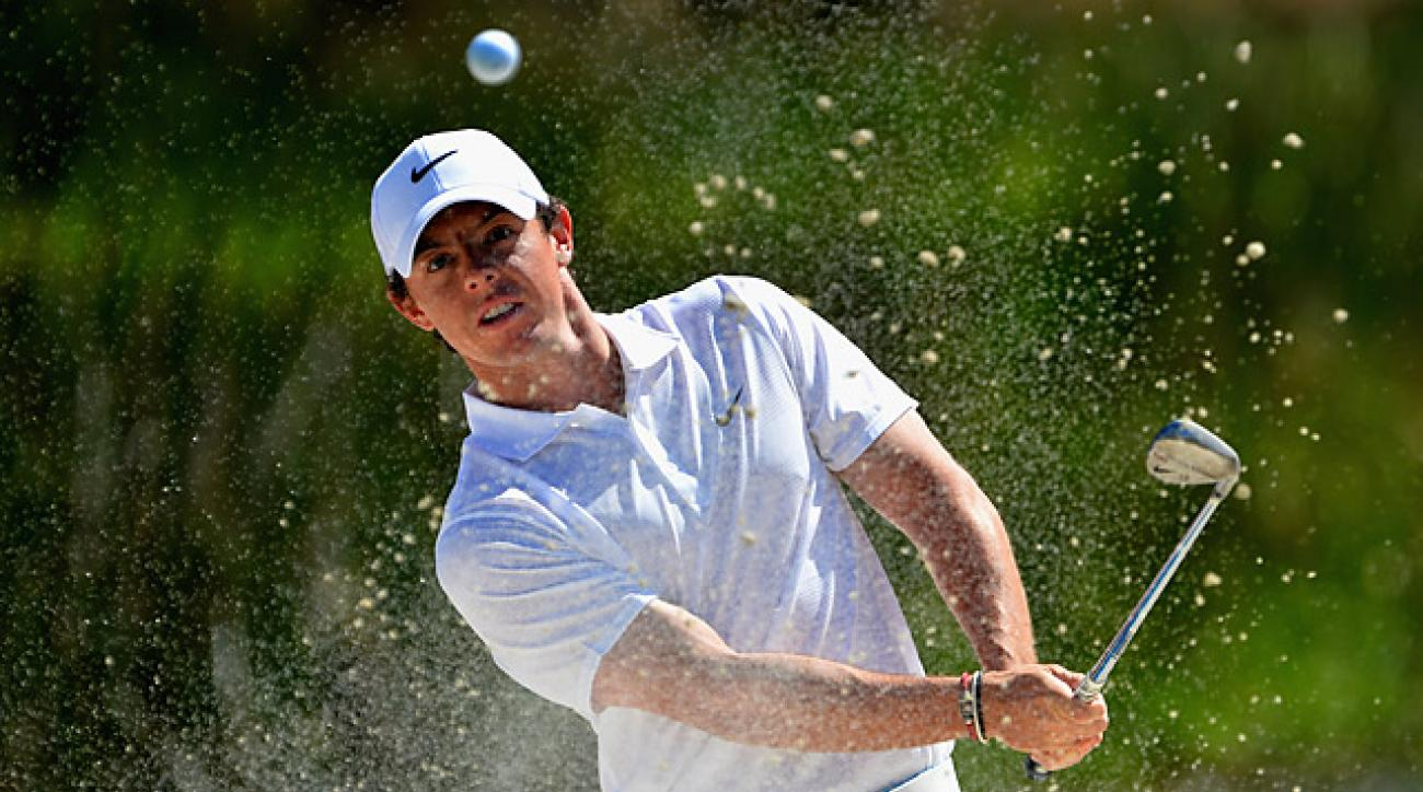 Rory McIlroy won the Honda Classic in 2012, holding off a late charge by Tiger Woods.