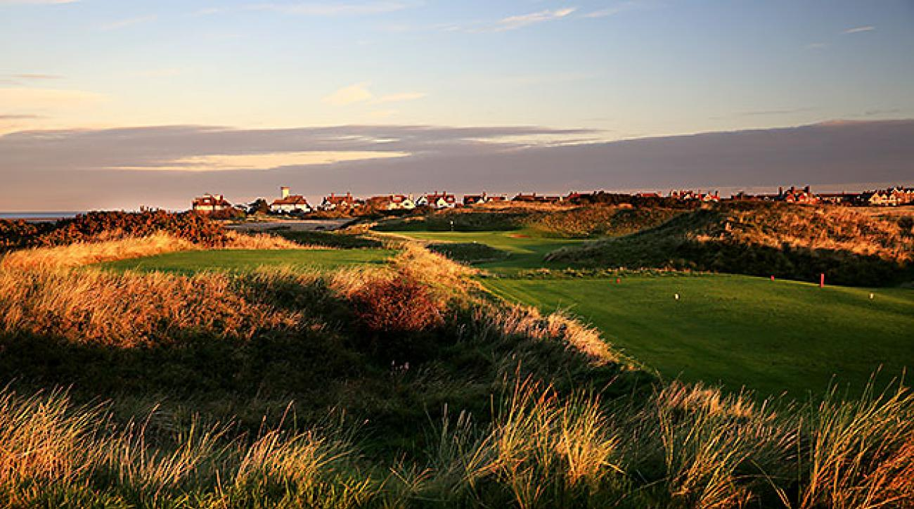 England's Royal Liverpool Golf Club, site of the 2014 British Open.
