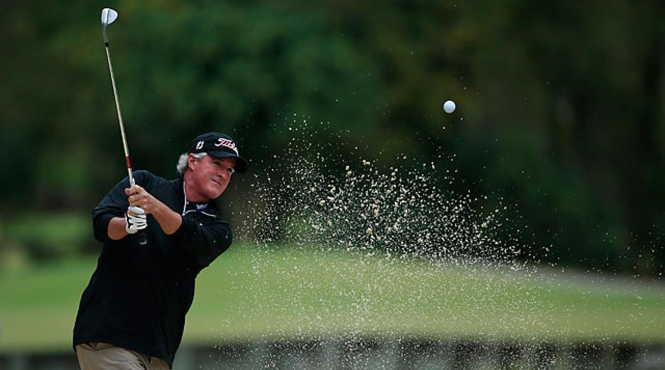 Russ Cochran is looking for his fifth Champions Tour victory.