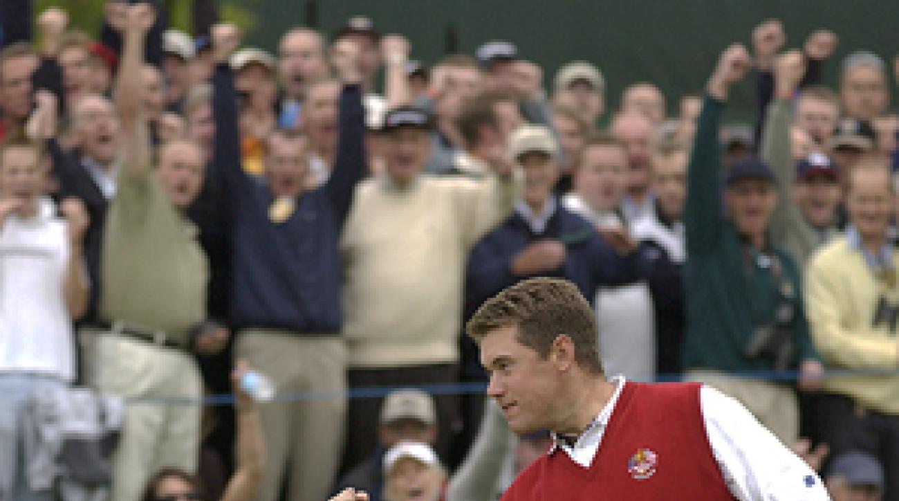 Lee Westwood paired with Sergio Garcia to win twice on Friday.