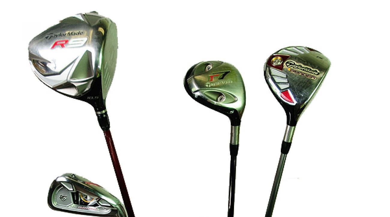 Sean O'Hair's TaylorMade golf equipment