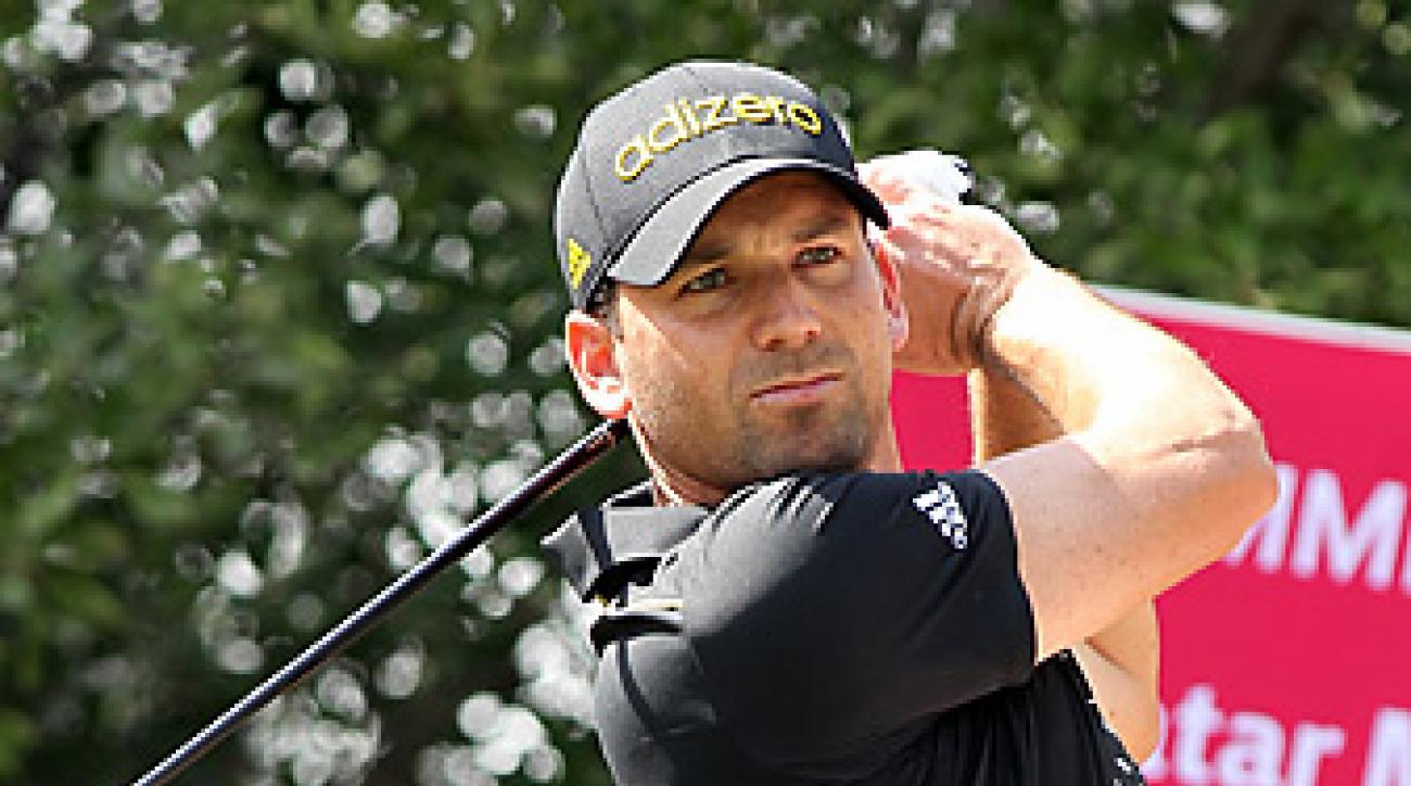 Sergio Garcia shot a 66 at the Qatar Masters.