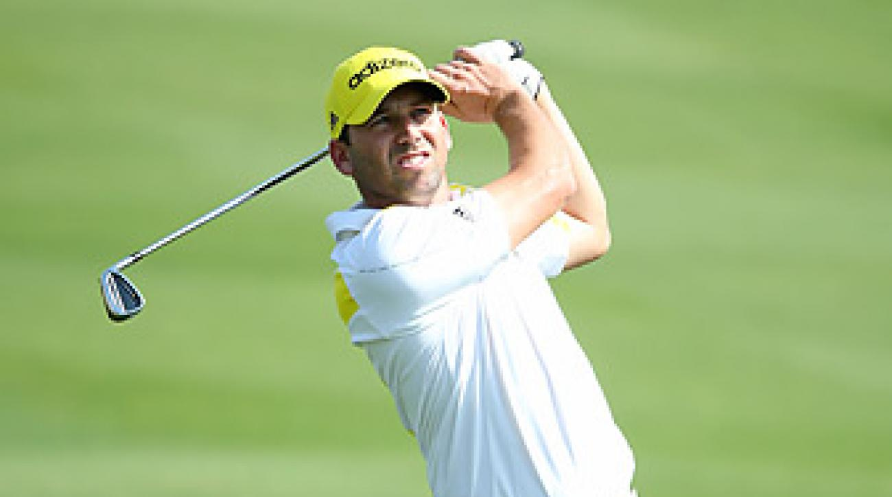 Sergio Garcia is currently ranked No. 14 in the world.
