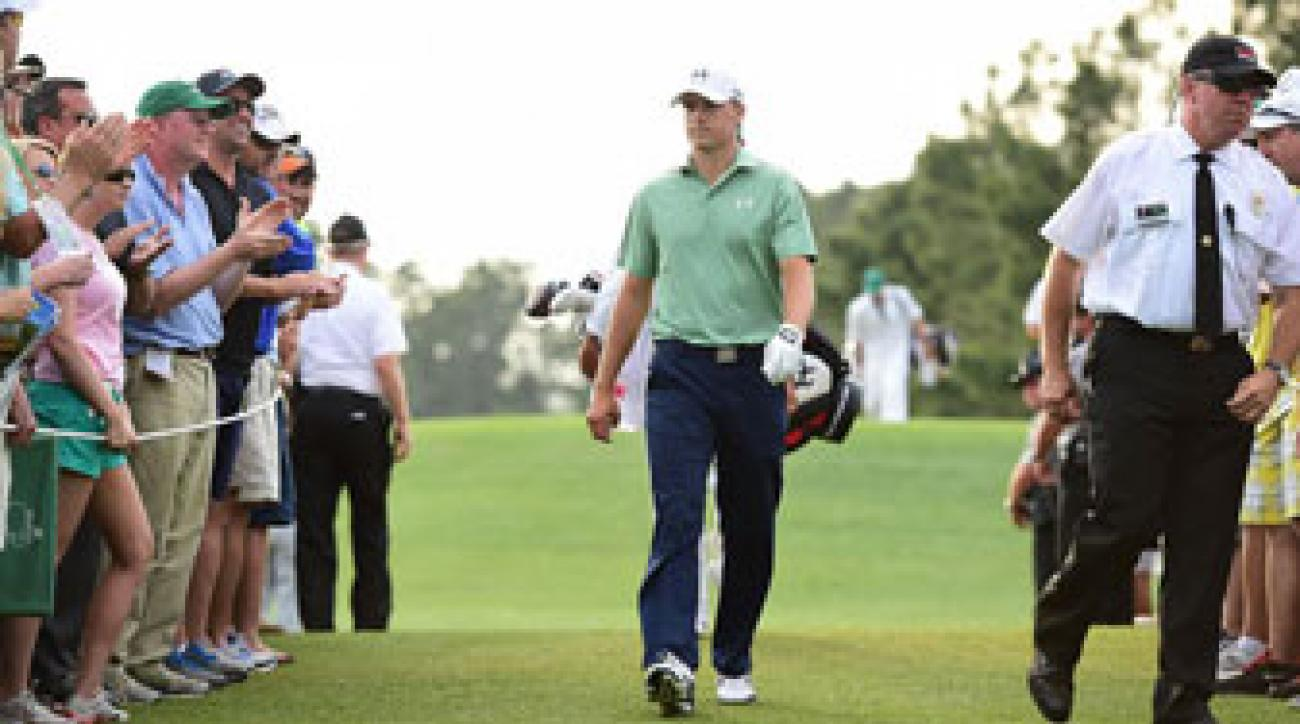 Jordan Spieth didn't win the Masters, at least not yet, but he appears to be on the verge of become a major player.