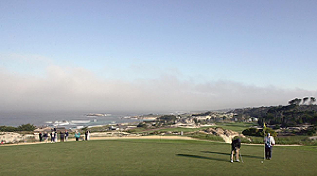 Spyglass Hill is just one of the great courses around Monteray