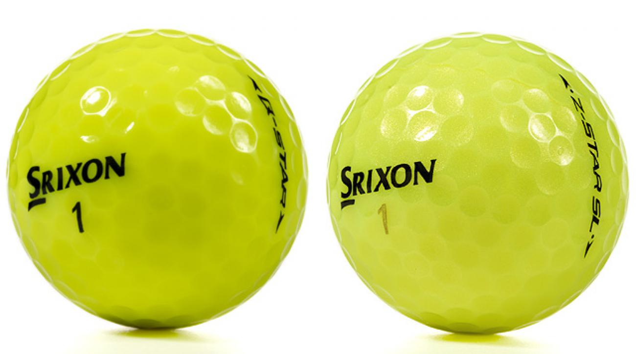 Srixon Z-Star SL Tour Yellow, Q-Star Tour Yellow