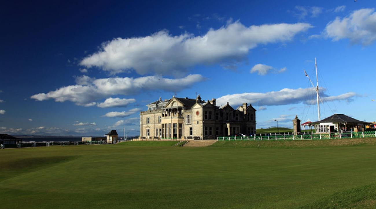 The 18th hole at the Old Course at St. Andrews is sure to garner a few votes.