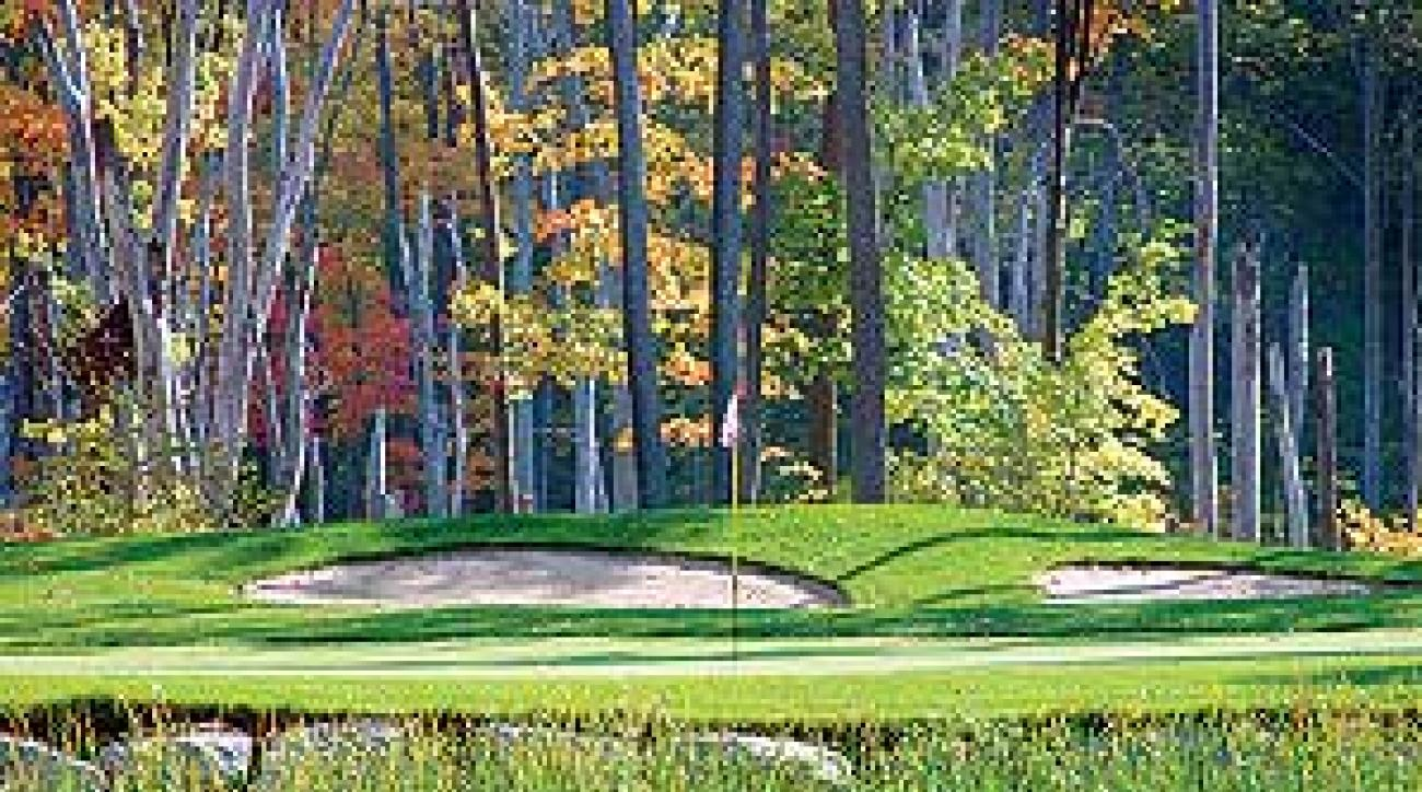The sixth hole at Montreal's St. Raphael Golf Club