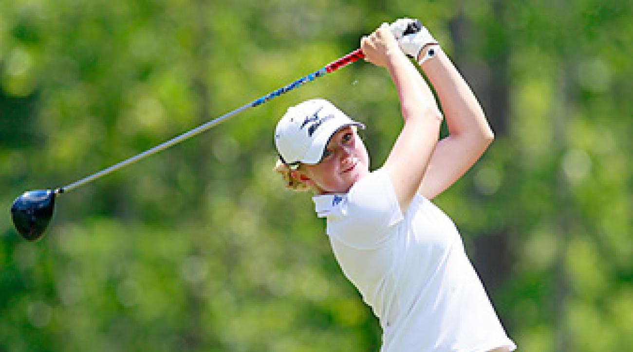 Stacy Lewis fended off Lexi Thompson by one shot.