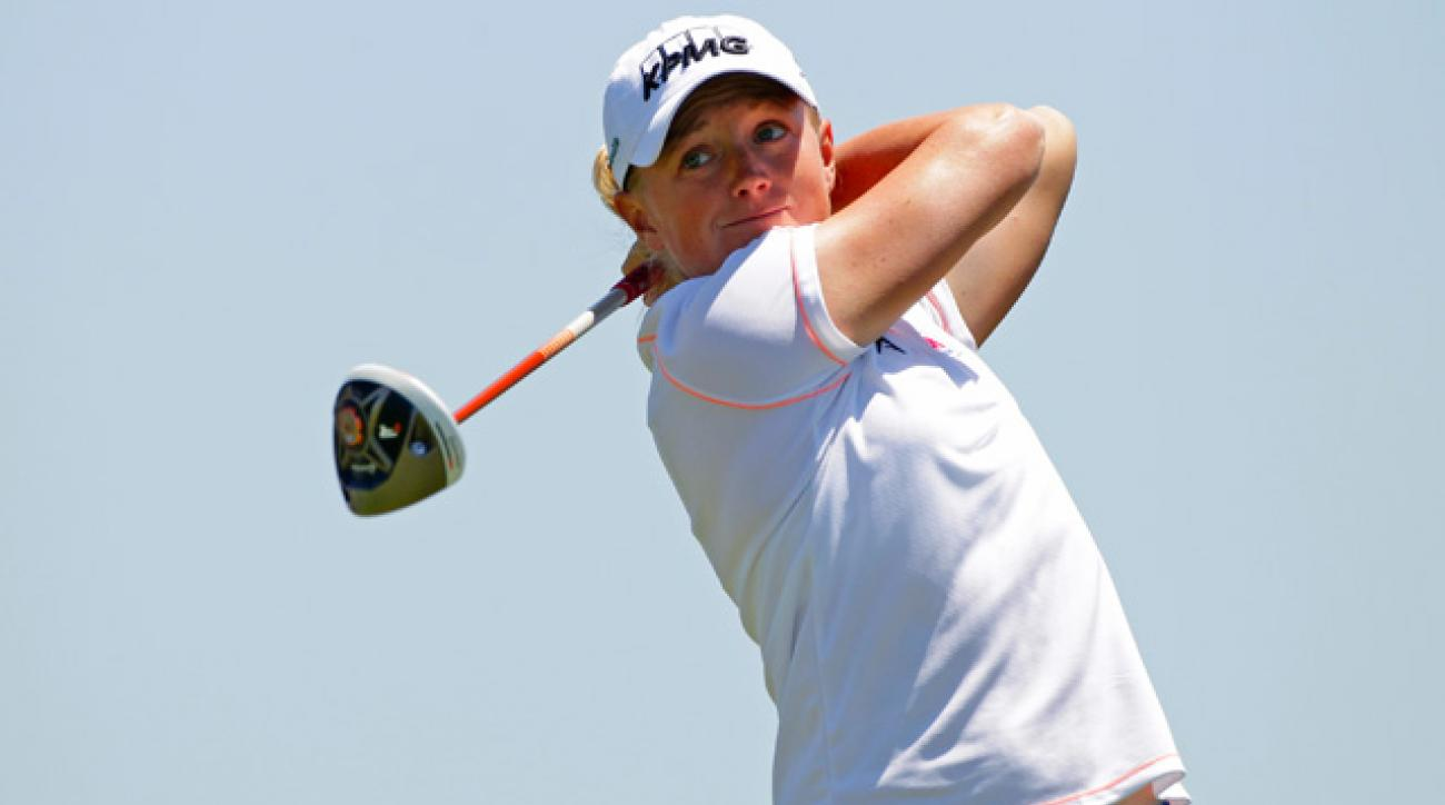 Stacy Lewis shot a 4-under 67 on Sunday.