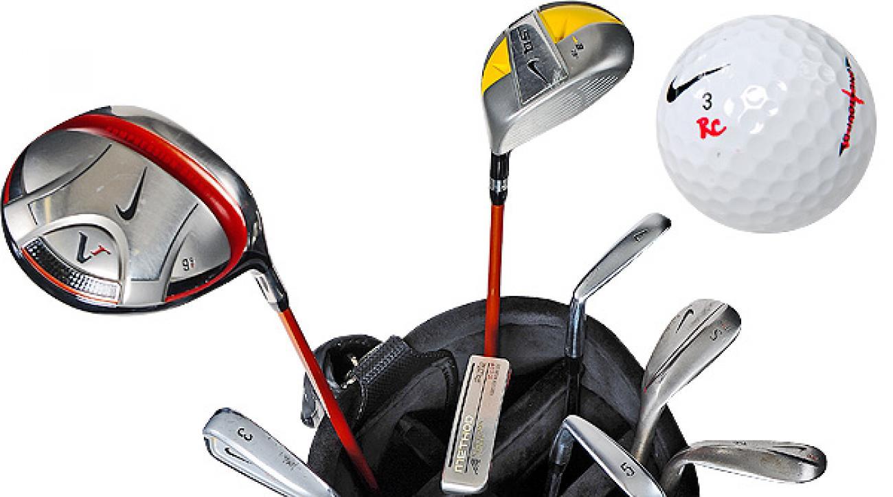 Stewart Cink's Golf bag