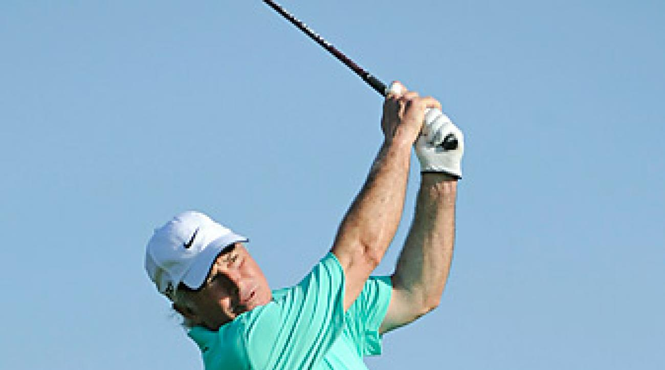 Curtis Strange captained the U.S. Ryder Cup to a loss in 2002.