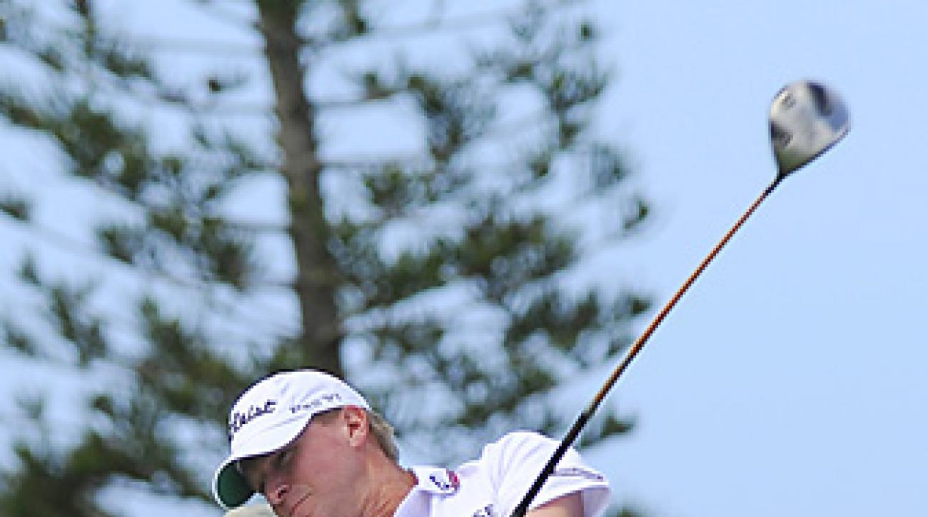 Steve Stricker shot a 69 to earn a three-shot victory.