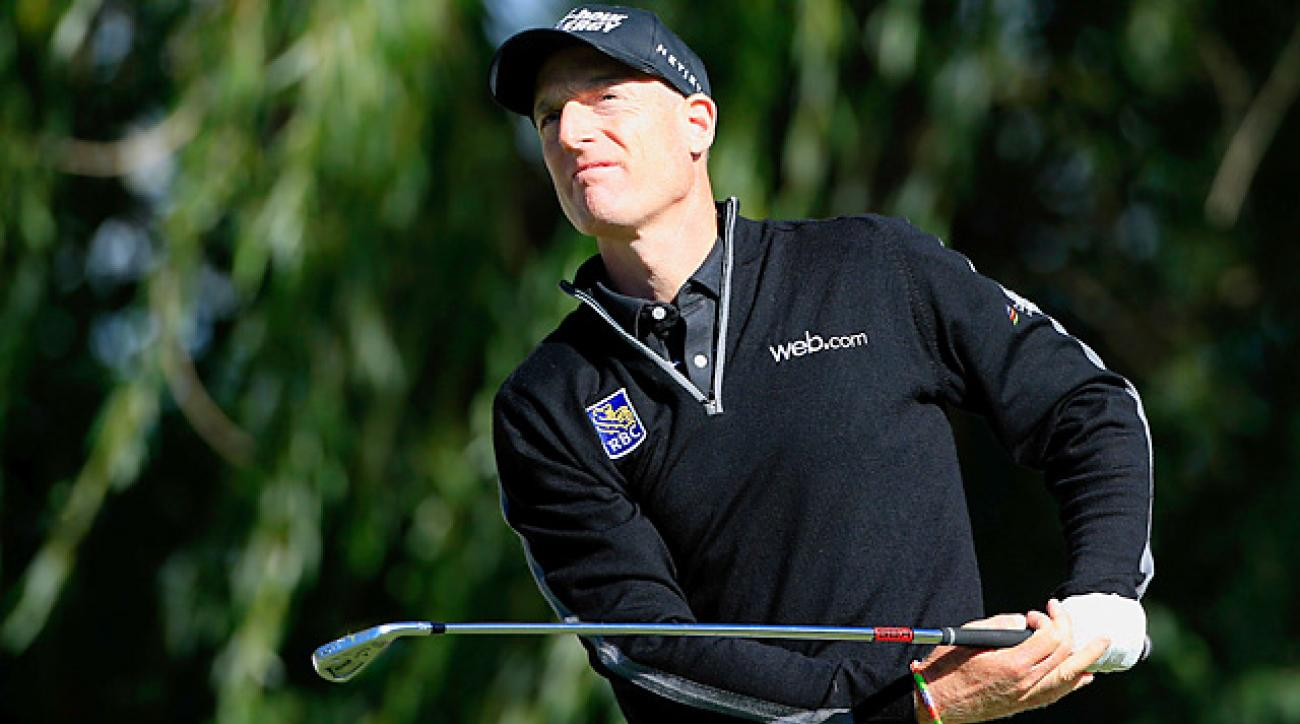 Jim Furyk made 12 birdies, one eagle and one bogey en route to the sixth 59 in PGA Tour history.