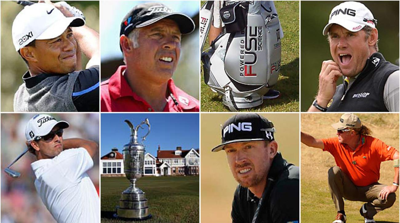 What else could you possibly want in the final round of this British Open?