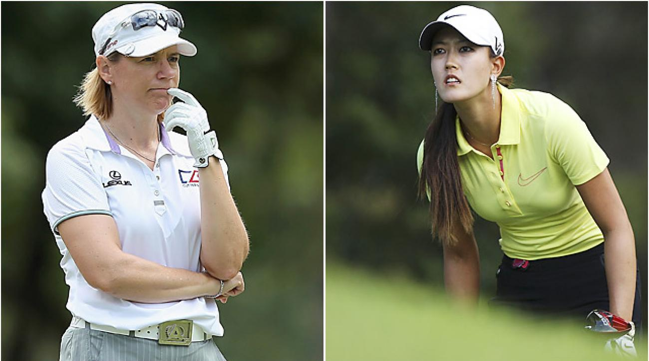 10-time major winner Annika Sorenstam said that Michelle Wie's decision to play in in men's events hurt her career.