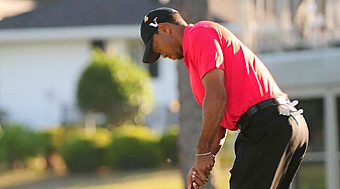 Tiger Woods putted well at Bay Hill, where he won by five shots.