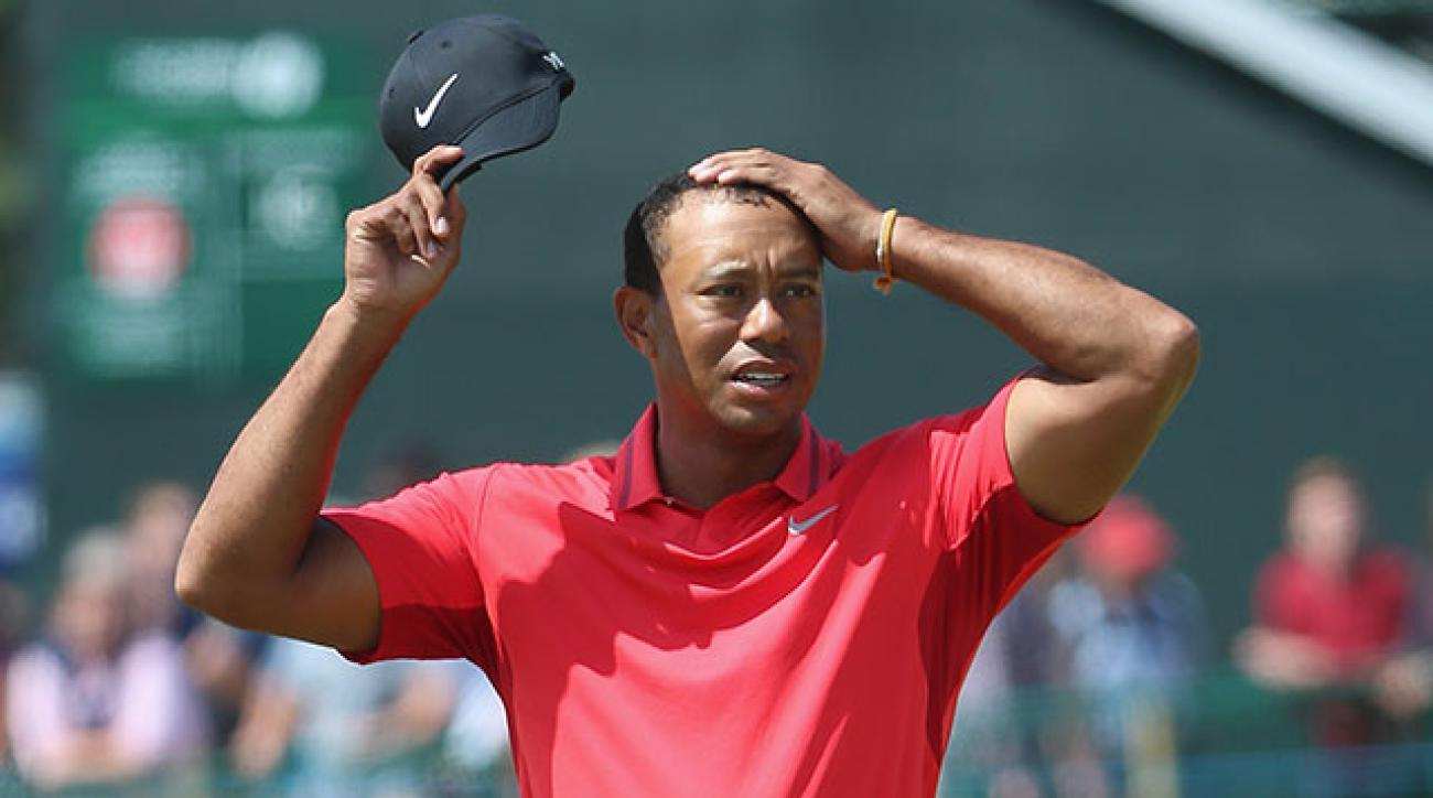 Tiger Woods finished 69th at the 143rd Open Championship at Royal Liverpool.